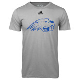 Adidas Climalite Sport Grey Ultimate Performance Tee-Beaver Head