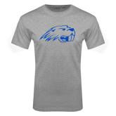 Grey T Shirt-Beaver Head