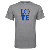 Grey T Shirt-LOVE