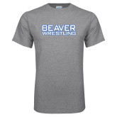 Grey T Shirt-Beaver Wrestling