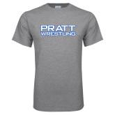 Grey T Shirt-Pratt Wrestling