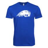 Next Level SoftStyle Royal T Shirt-Beaver Head
