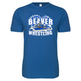 Next Level SoftStyle Royal T Shirt-Beaver Wrestling Gears