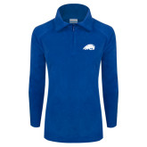 Columbia Ladies Half Zip Royal Fleece Jacket-Beaver Head