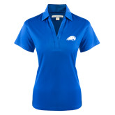 Ladies Royal Performance Fine Jacquard Polo-Beaver Head