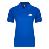 Ladies Easycare Royal Pique Polo-Beaver Head