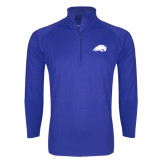 Sport Wick Stretch Royal 1/2 Zip Pullover-Beaver Head