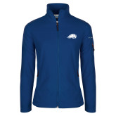 Columbia Ladies Full Zip Royal Fleece Jacket-Beaver Head