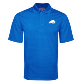 Royal Mini Stripe Polo-Beaver Head