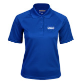 Ladies Royal Textured Saddle Shoulder Polo-Pratt Community College Beavers