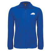 Fleece Full Zip Royal Jacket-Beaver Head