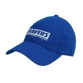 Royal Twill Unstructured Low Profile Hat-Pratt Community College Beavers