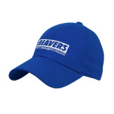 Royal Heavyweight Twill Pro Style Hat-Pratt Community College Beavers