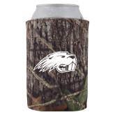Collapsible Mossy Oak Camo Can Holder-Beaver Head