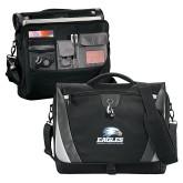Slope Black/Grey Compu Messenger Bag-Signature Mark