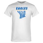 White T Shirt-Basketball