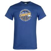 Royal T Shirt-2018 Womens Basketball Champions