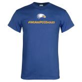 Royal T Shirt-We Are PCC Eagles