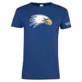 Ladies Royal T-Shirt-Eagle Head