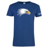 Ladies Royal T-Shirt-Eagle Head