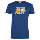 Ladies Royal T-Shirt-Protect The Nest