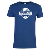 Ladies Royal T-Shirt-Soccer Shield