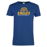 Ladies Royal T-Shirt-Volleyball
