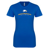 Next Level Ladies SoftStyle Junior Fitted Royal Tee-Alumni Design