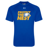Under Armour Royal Tech Tee-Protect The Nest