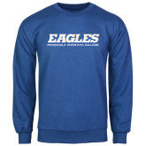 Royal Fleece Crew-Eagles
