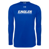 Under Armour Royal Long Sleeve Tech Tee-Eagles