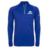 Under Armour Royal Tech 1/4 Zip Performance Shirt-Signature Mark