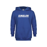 Youth Royal Fleece Hoodie-Eagles
