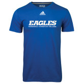 Adidas Climalite Royal Ultimate Performance Tee-Eagles