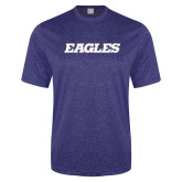 Performance Royal Heather Contender Tee-Eagles