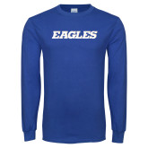 Royal Long Sleeve T Shirt-Eagles