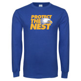Royal Long Sleeve T Shirt-Protect The Nest