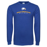 Royal Long Sleeve T Shirt-Alumni Design