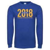 Royal Long Sleeve T Shirt-Class of 2018