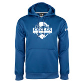 Under Armour Royal Performance Sweats Team Hoodie-Soccer Shield