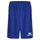 Russell Performance Royal 9 Inch Short w/Pockets-Signature Mark