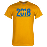 Gold T Shirt-Class of 2018