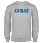 Grey Fleece Crew-Eagles