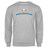 Grey Fleece Crew-Alumni Design