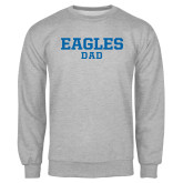 Grey Fleece Crew-Dad