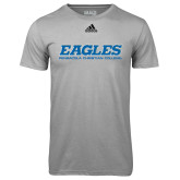 Adidas Climalite Sport Grey Ultimate Performance Tee-Eagles