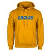 Gold Fleece Hoodie-Eagles