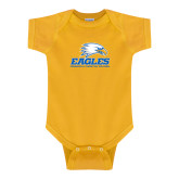 Gold Infant Onesie-Signature Mark