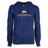 ENZA Ladies Royal Fleece Full Zip Hoodie-Alumni Design