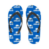 Ladies Full Color Flip Flops-Signature Mark